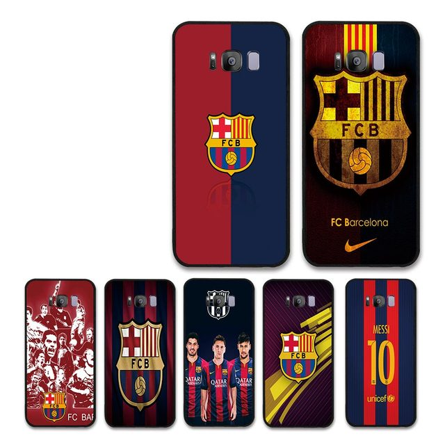 f75fd3035b9 FC Barcelona Messi Fans Case Coque Funda for SamSung S8 S8 plus S7 edge FCB  Phone Cases