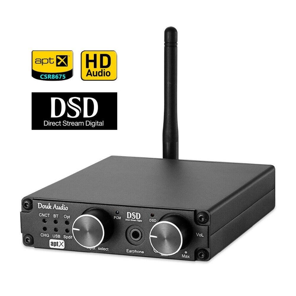 Mini Bluetooth 5 0 USB Decoder Headphone Amplifier XMOS DAC DSD256 PCM384K ATPX