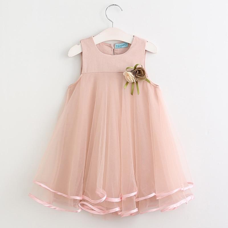 Girls Dress 2019 Märke Barnkläder Butterfly Ärm Brev T-shirt + - Barnkläder - Foto 6