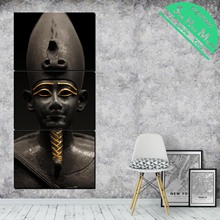 3 Piece A Ruler of Ancient  Egypt Canvas Art Decorative Pictures Wall Poster Modern Posters and Prints Artwork
