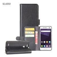 KLAIDO Genuine Cow Leather Phone Case For ZTE Blade V8 Mini Cover Cases Luxury Elegant Holster