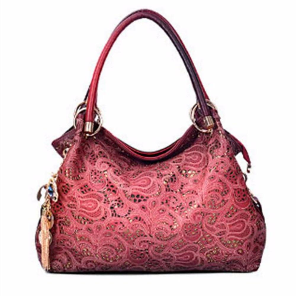 2018 women bag hollow out ombre handbag floral print shoulder bags ladies pu leather tote bag casual lady bag pu leather front zip floral shoulder bag