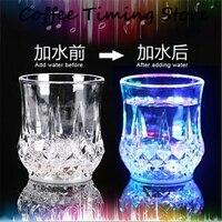 Inteligentny elektroniczny czujnik automatyczna zmiana akrylowego kubek LED kolorowe Kreatywny koktajl szkło cup