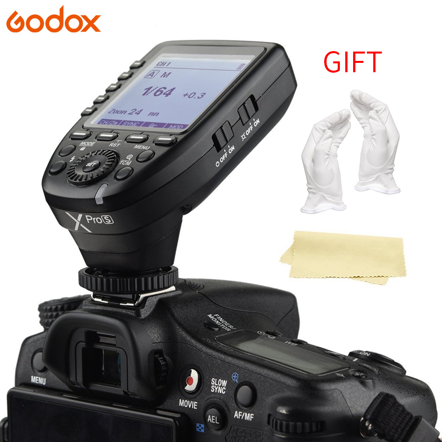 Godox Xpro S ソニー TTL ワイヤレスフラッシュトリガー 1/8000 s HSS TTL 変換 マニュアル機能大画面傾斜デザインボタン  グループ上の 家電製品 からの シャッターリリース の中 1