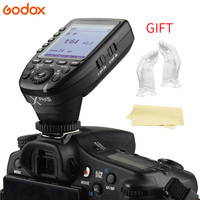 Godox Xpro S for Sony TTL Wireless Flash Trigger 1/8000s HSS TTL Convert Manual Function Large Screen Slanted Design Buttons
