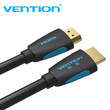 Vention HDMI 2.0 Cable 1.4 3D 2160P Cable HDMI Male to Male with HDMI Adapter for HDTV PS3 Projector HD LCD TV Computer 4K Cable цена и фото