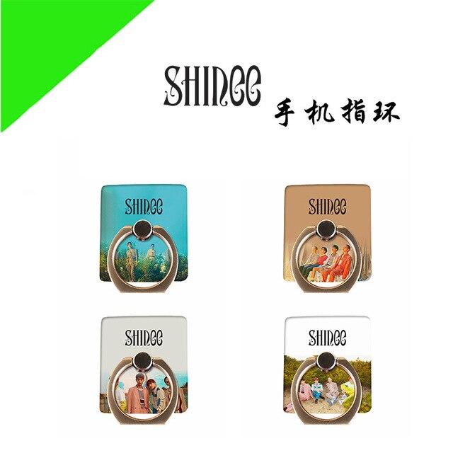 MYKPOP]SHINEE 360 Degree rotate Mobile Phone Desk Holder Finger Ring Holder 4 all Smart Phones KPOP Collection SA18061610