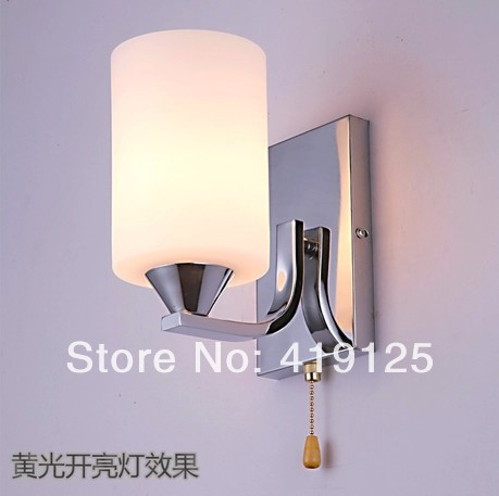 Fashion brief modern wall lamp bed-lighting living room lights bedroom lamp aisle lights modern brief fashion round ball crystal lamp pendant lamp restaurant lamp bedroom lamp living room lights
