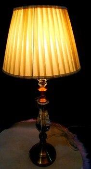 Moderno europeo di design T029 Lampada Da Tavolo in Cristallo per soggiorno/camera da letto comodino lampada da tavolo decorativa