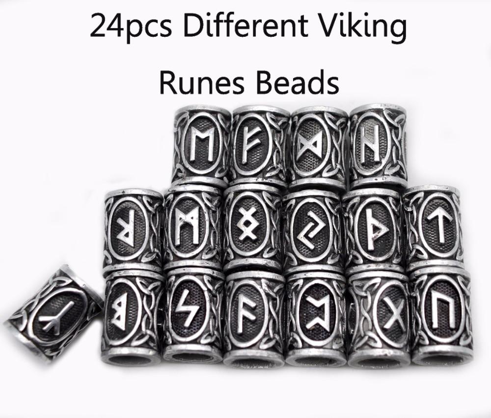 Wholesale  Viking Engine Beard Beads for Bracelets for Pendant Necklace Paracord
