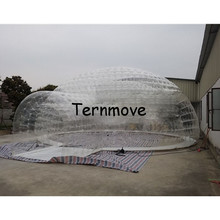 inflatable coffee rest room Inflatable family camping Bubble Tent the event struct House Dome Outdoor Clear Show tent for Photo