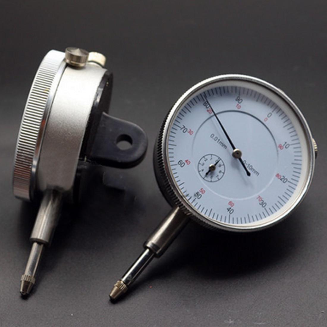 0-10mm Medidor Preciso 0.01 Resolução Teste De Concentricidade Mecânica Dial Indicator Calibre Novo