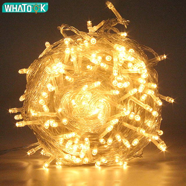 Christmas String Light LED Wire Outdoor Indoor Lights 10M 20M 30M 50M Fairy Garland Light for Home Christmas Tree Wedding Party