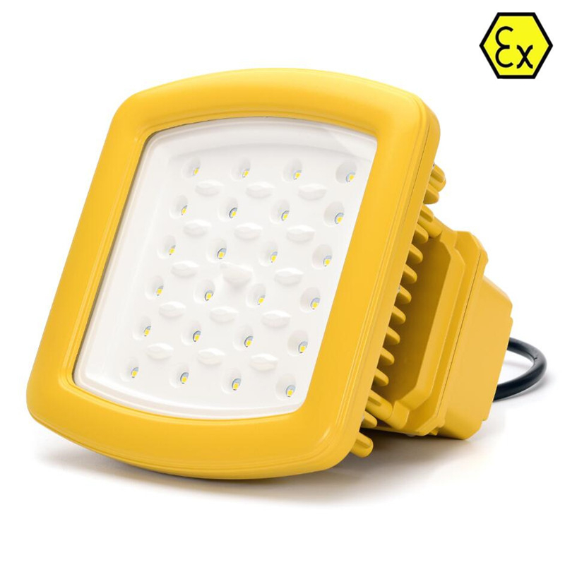 ATEX UL Explosion Proof Led Light 20W-200W Hazardous Area Lighting AC100V-277V UL DLC LED Explosion Proof Light