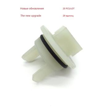20 sztuk nowa aktualizacja wzmocnione tworzywa sztuczne darmowa wysyłka części maszynki do mielenia mięsa z tworzywa sztucznego z długim rękawem 418076 pasuje do Bosch tanie i dobre opinie HM-6