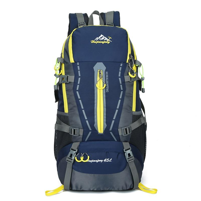 45L Backpack Travel Schoolbag Male Backpack Men Large Capacity Rucksack  Mochila Escolar Waterproof Camping Hiking Sport 5a5c2080aa822