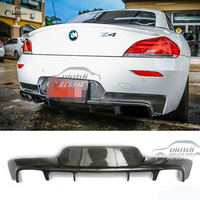 Z4 3D Style Splitter M Sports High Quality Carbon Fiber For BMW E89 Z4 M Tech Diffuser 2009 2016 Car Accessories Car Styling