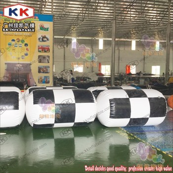 Inflatable Cylinder Shape Paintball Bunker Can for sports game, CS game