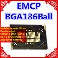 KMKYL000VM-B603 BGA186Ball EMCP 16 + 8 16GB мобильный телефон памяти Новый оригинальный и второй рукой спаянные шары протестированы ОК