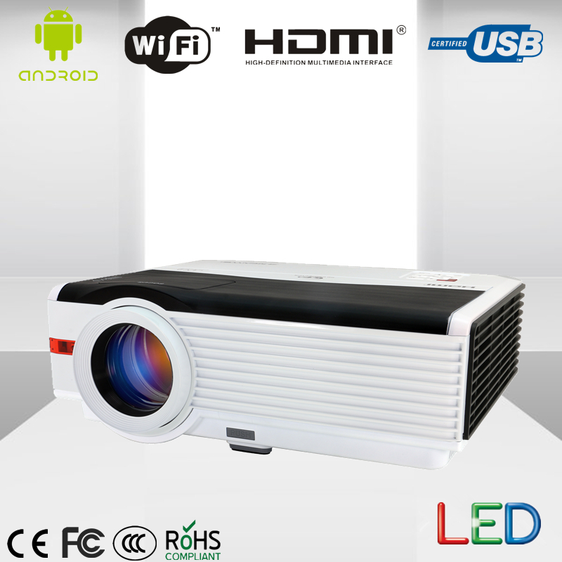 HD LED wifi Projector for smart Home Theater Cinema