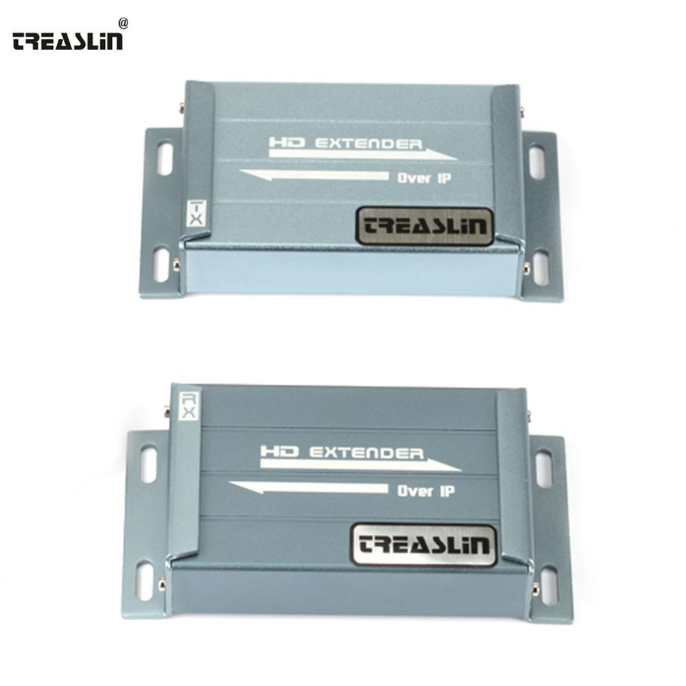 TreasLin 492FT HDMI Extender over Cat5e Cat6 One Transmitter to Many font b Receiver b font