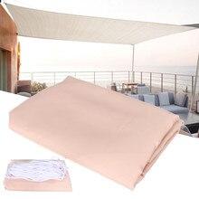 2.5×2.5M Rectangle Top Sun Shade Sail Shelter Outdoor Garden Outdoor sun shelter Patio Car Cover Awning Canopy car cover