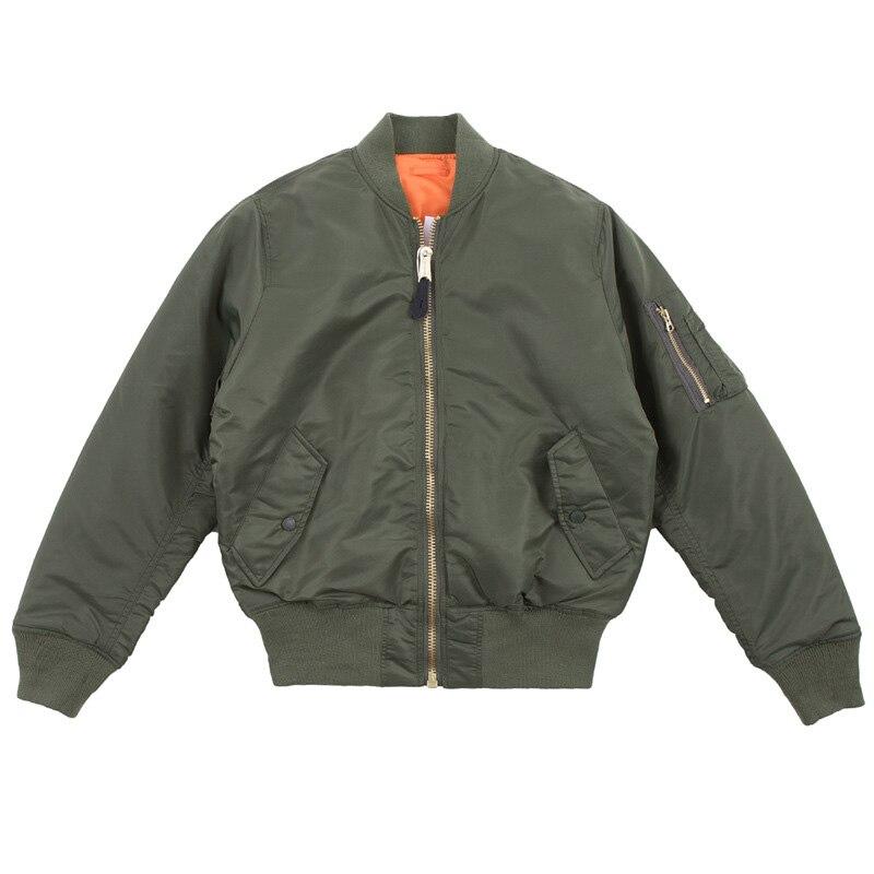 Thick Winter Coat Men Ma1 Bomber Jacket Man Hip Hop Coats Warm Streetwear Track Baseball Coat   Parka   Men Clothes