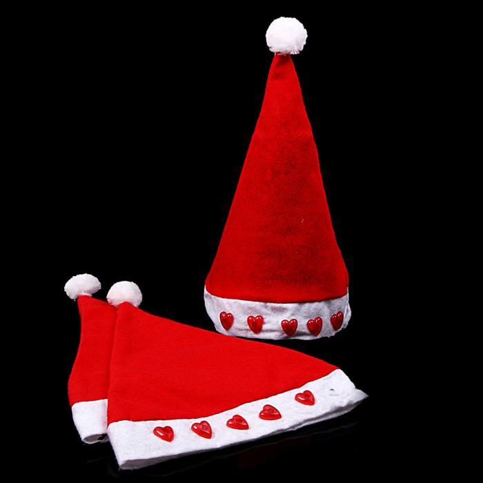 moda Per Bambini Giocattoli LED Babbo natale Cappello Non tessuto Cap Kid  Boy Girl Decorazione di Natale Regali Di Natale Luminoso BM8 3f948d51af72