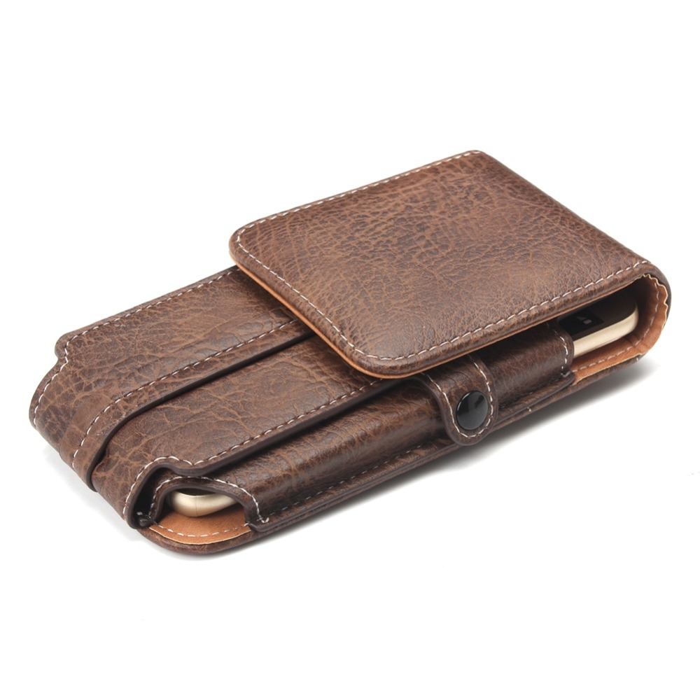 Case For <font><b>Philips</b></font> Xenium E571 High Quality Belt Clip Hook Loop Shockproof Leather Pouch For <font><b>Philips</b></font> Xenium <font><b>E570</b></font>/E331/E266W/E316 image