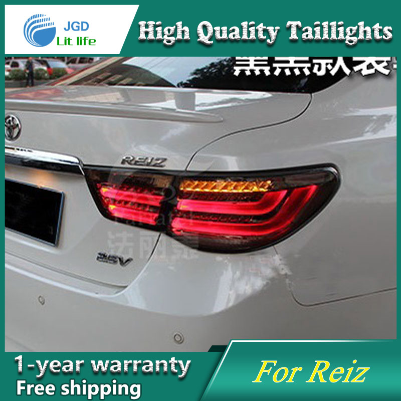 Car Styling Tail Lamp for Toyota Reiz 2010-2015 Tail Lights LED Tail Light Rear Lamp LED DRL+Brake+Park+Signal Stop Lamp car styling tail lamp for toyota corolla led tail light 2014 2016 new altis led rear lamp led drl brake park signal stop lamp