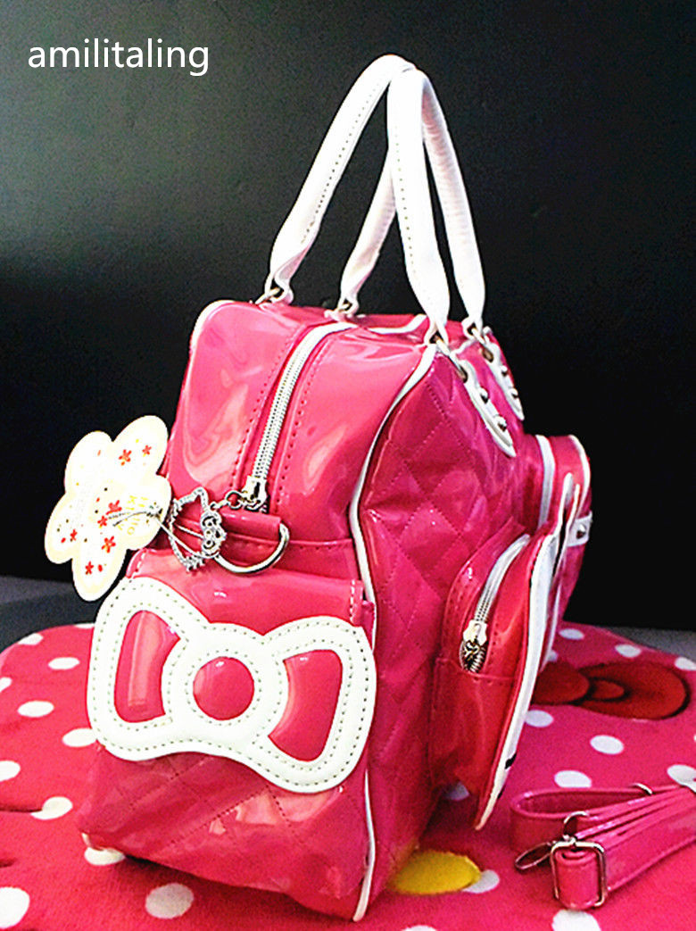 1d09cf029919 New Hello kitty Large Handbag purse Travel Shopping Tote Bag CC 2089-in  Shoulder Bags from Luggage   Bags on Aliexpress.com