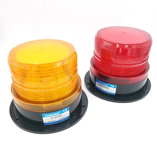 Прокат автомобилей Грузовик предупреждающий сигнал свет 12 V 24 V 220 V N-5095 светодиодный индикатор лампы вспышки проблесковый маячок лампа авар...