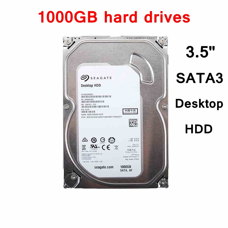 [ReadStar]Desktop Computer HDD SATA3 1000GB Internal Hard drive 1TB hard disc ST1000DM010 shiping free