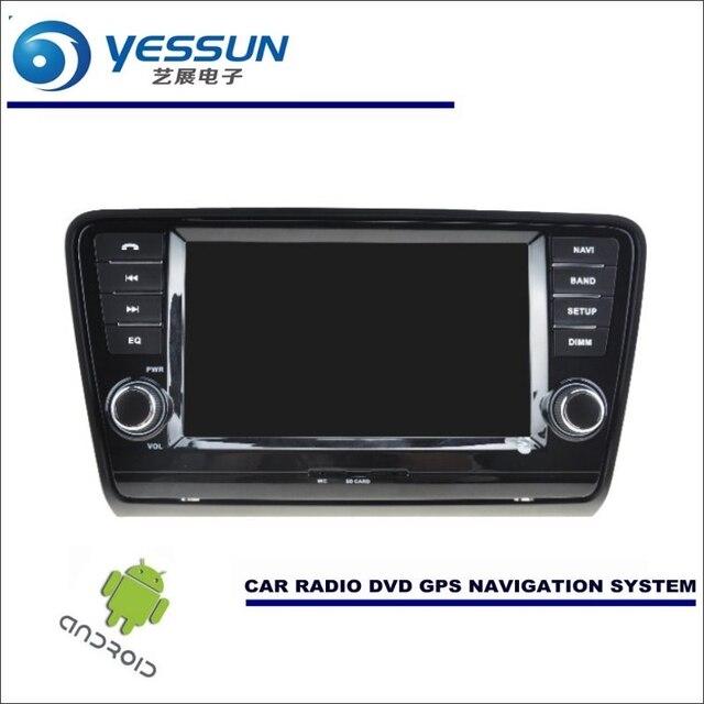 yessun car android navigation system for skoda octavia mk3 2013~2016