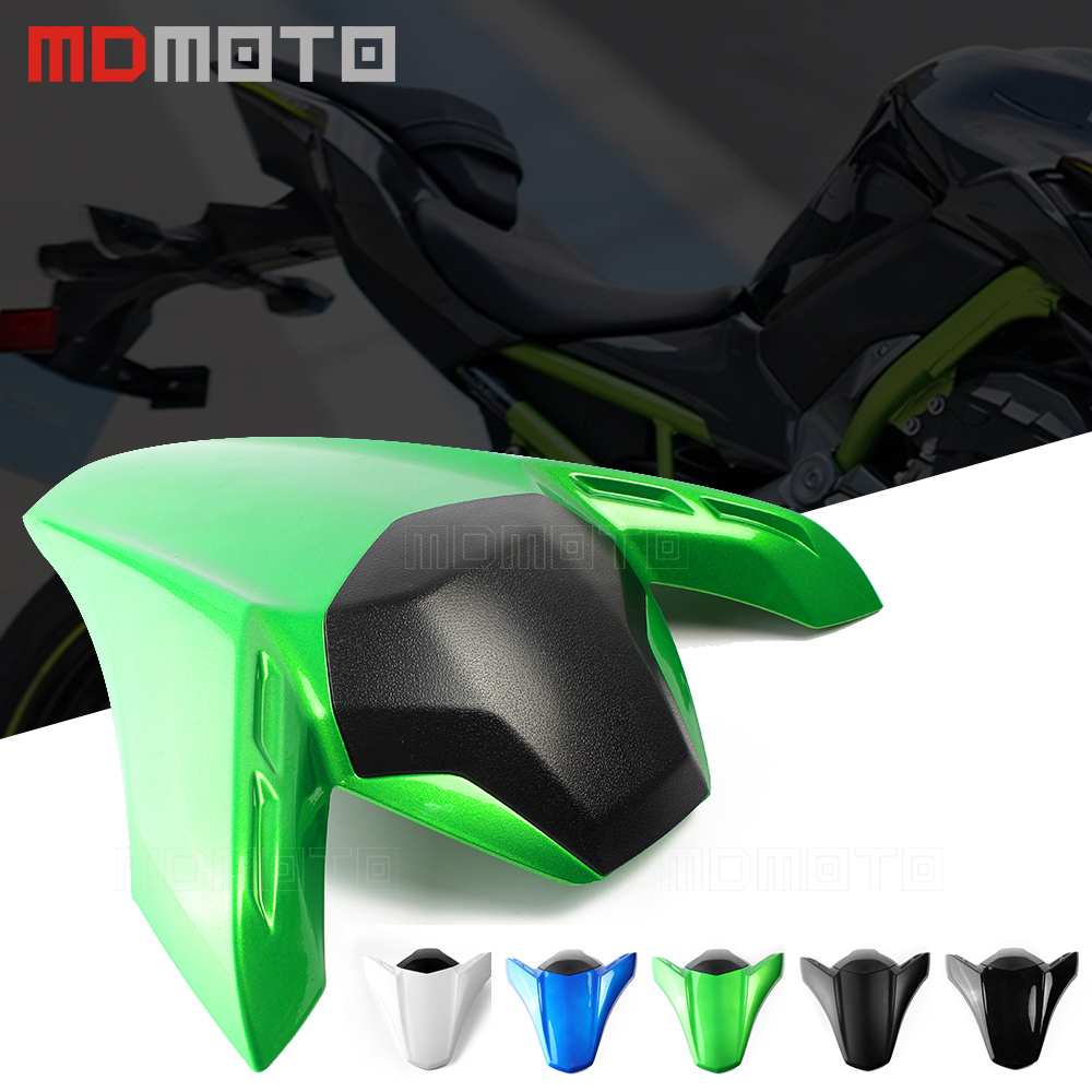 Motorcycle Seat Cowl Rear Passenger Cover For Kawasaki Z900 Z 900 2017  Motor ABS Accessories Rear Seat Cover Cowl For Kawasaki for 2002 2005 kawasaki ninja zx9r zx 9r motorcycle rear passenger seat cover cowl black 01 02 03 04 05