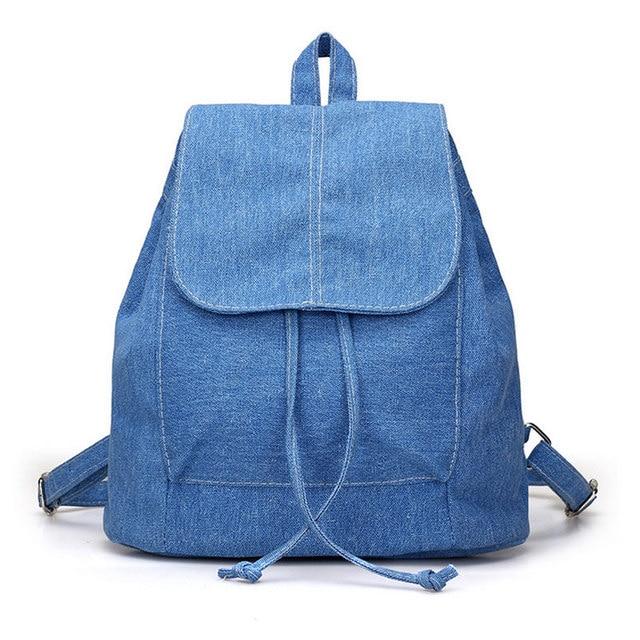 effd719e603c1 بسيط الأزياء الكورية المرأة حقيبة قماش حقيبة بلون سعة كبيرة للسياحة عارضة  السيدات بنات حقائب مدرسية