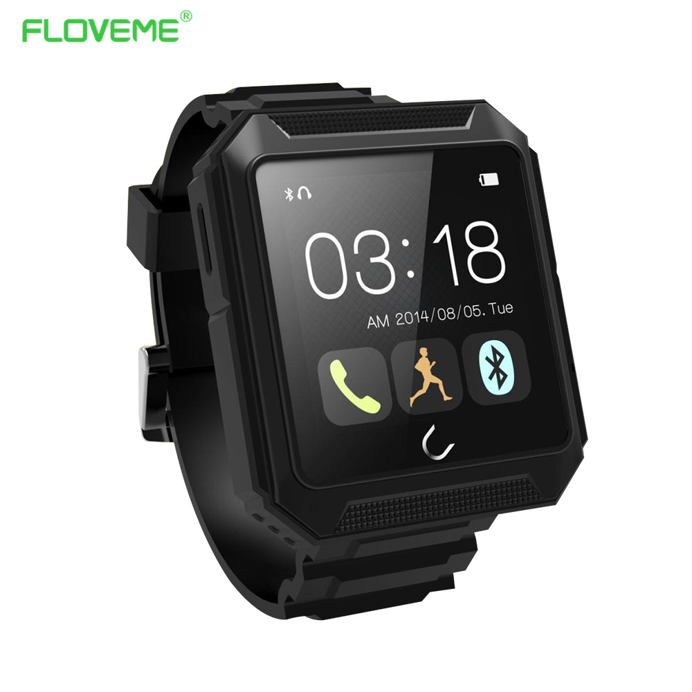 FLOVEME E3 Bluetooth Smart Watch for Apple iPhone 6 7 6S Plus 5 5S SE iOS & Android Phone Smartwatch For Samsung/Xiaomi/Huawei