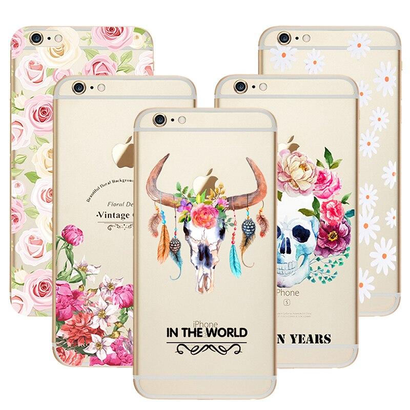 Casos de teléfono para apple iphone 5c paisaje de impresión unicornio diseño tra