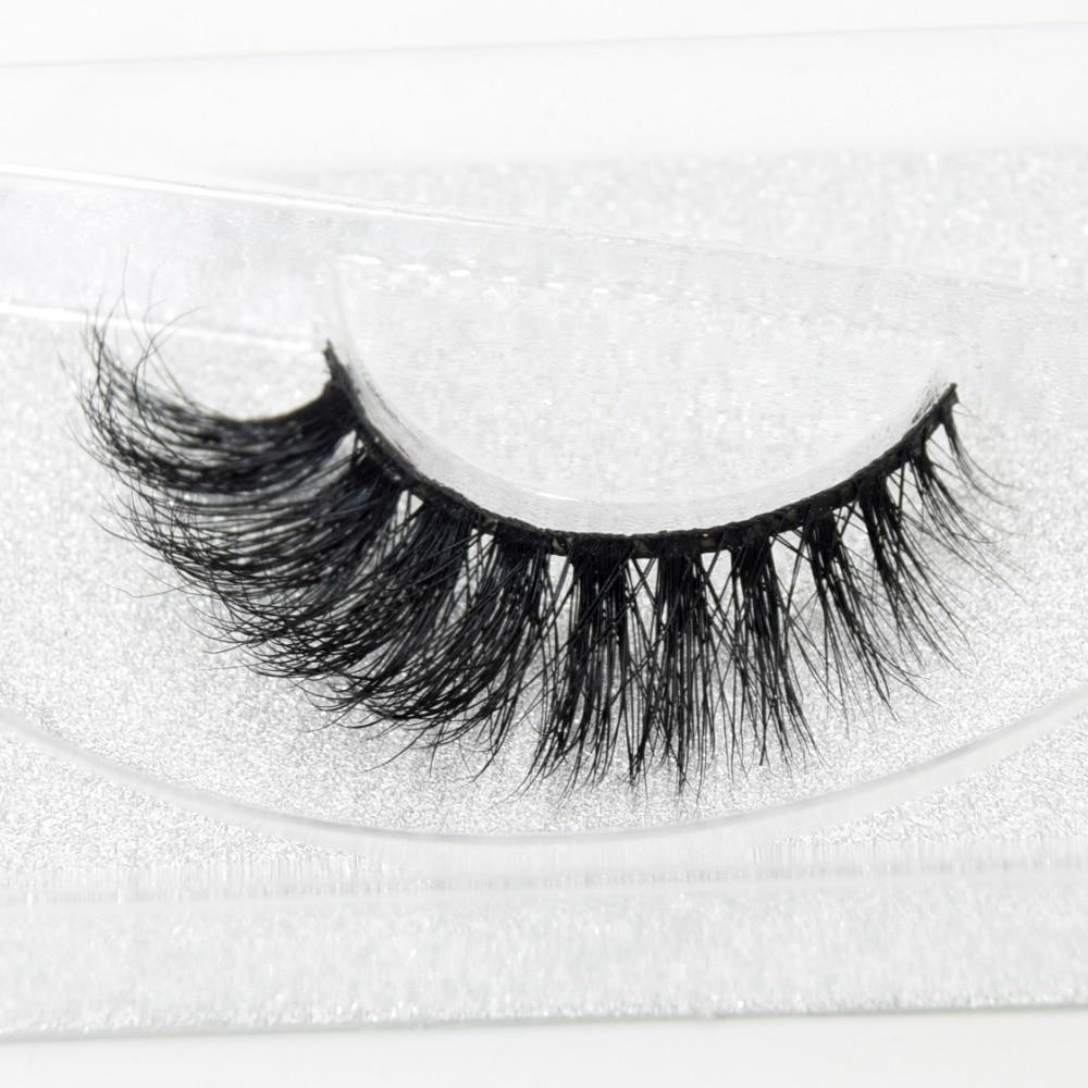 Visofree Eyelashes 3D Mink Lashes High Volume Handmade Mink False Eyelashes Thick Full Strip Lashes Cruelty Free Cilios Posticos