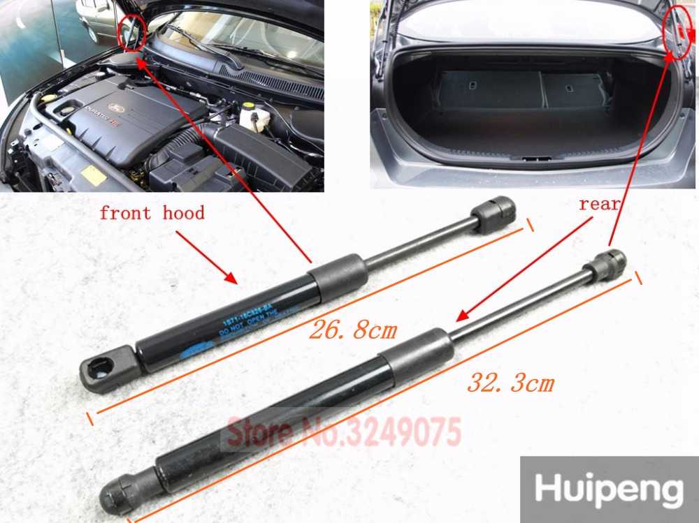 TAYDMEO Support rod,2X Rear Trunk Tailgate Boot Lift Strut Struts Support Bar Rod Spring,For Ford Mondeo MK3 Hatchback 2000-2007