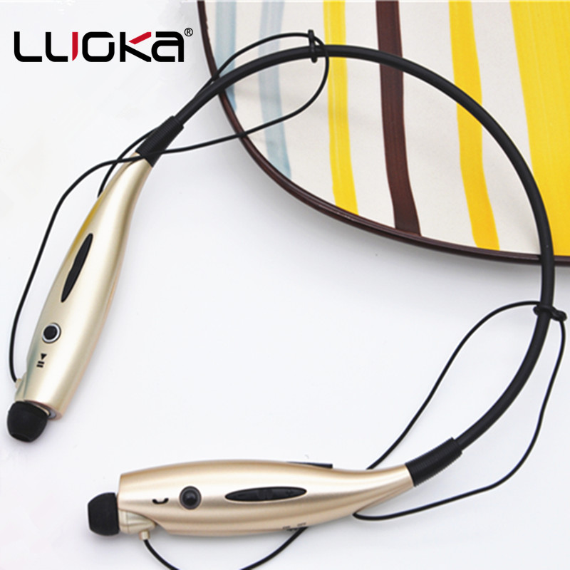 LUOKA 730 Wireless Bluetooth Headset Sports Bluetooth Earphones Headphone with Mic Bass Earphone for iphone xiaomi Mobile Phone new 2016 original linx lx bl11 bluetooth wireless earphone headphone for mobile phone headset headphone free shipping