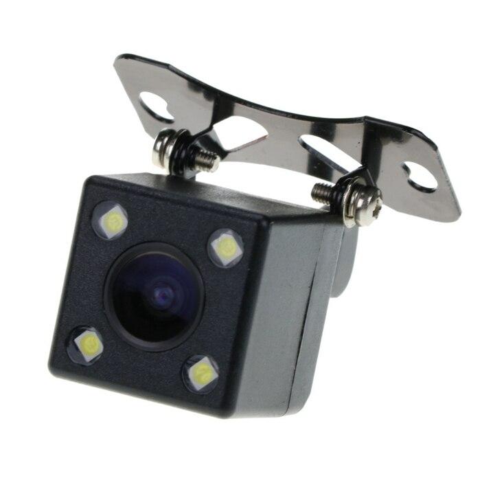 Nouveau 4LED night vision car rear view caméra de recul étanche parking caméra 170 degrés grand angle HD image