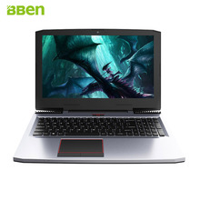Bben ноутбук 15.6 дюйма windows10 16 ГБ/256 ГБ M.2 SSD + 1 ТБ HDD Intel i7-7700HQ 6 г GDDR5 NVIDIA GTX1060 IPS подсветкой