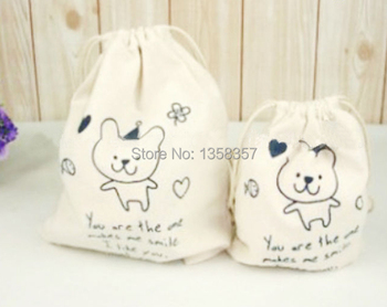 100pcs/lot wholesale jute/linen/flax drawstring jewerly bags for toiletry/gift packaging,Size can be customized,Various colors