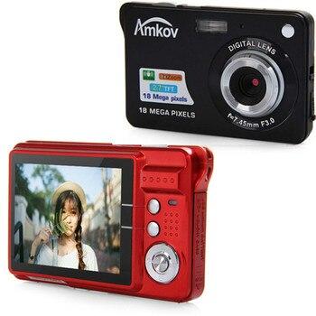 Amkov CDC3 2.7 Inch TFT 18.0MP Anti-shake Digital Camera