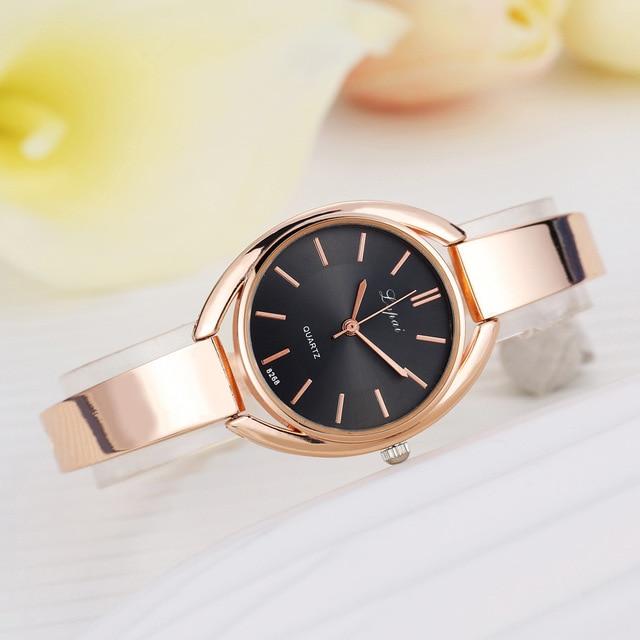 New Arrival Luxury Womens Watches Korean Fashion Simple Ladies Wrist Watch Steel
