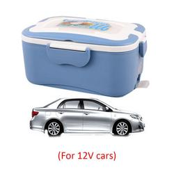 12V/24V/220V Electric Rice Cooker Car Home Heat Insulation Lunch Box Charging Hot Rice Cooker Multicooker Food Warmer Box