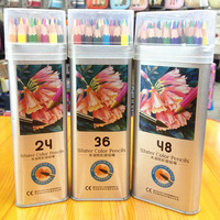 12 24 36 Color Non Toxic Water Soluble Color Pencil Learning Stationery Painting Art Pencil Set
