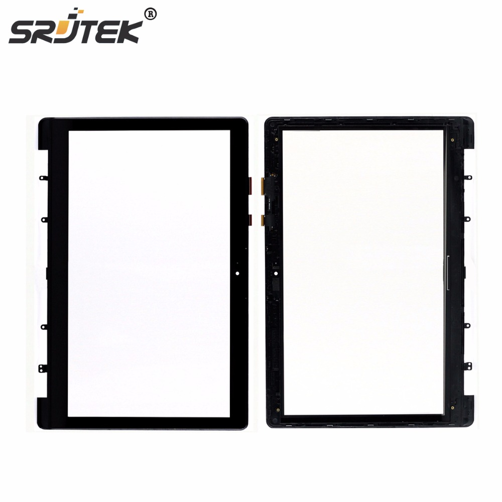 Srjtek 15.6 Laptop Touch Digitizer Screen Sensor For ASUS S551 S551LB S551L Touchscreen with Frame Replacement Parts битоков арт блок z 551