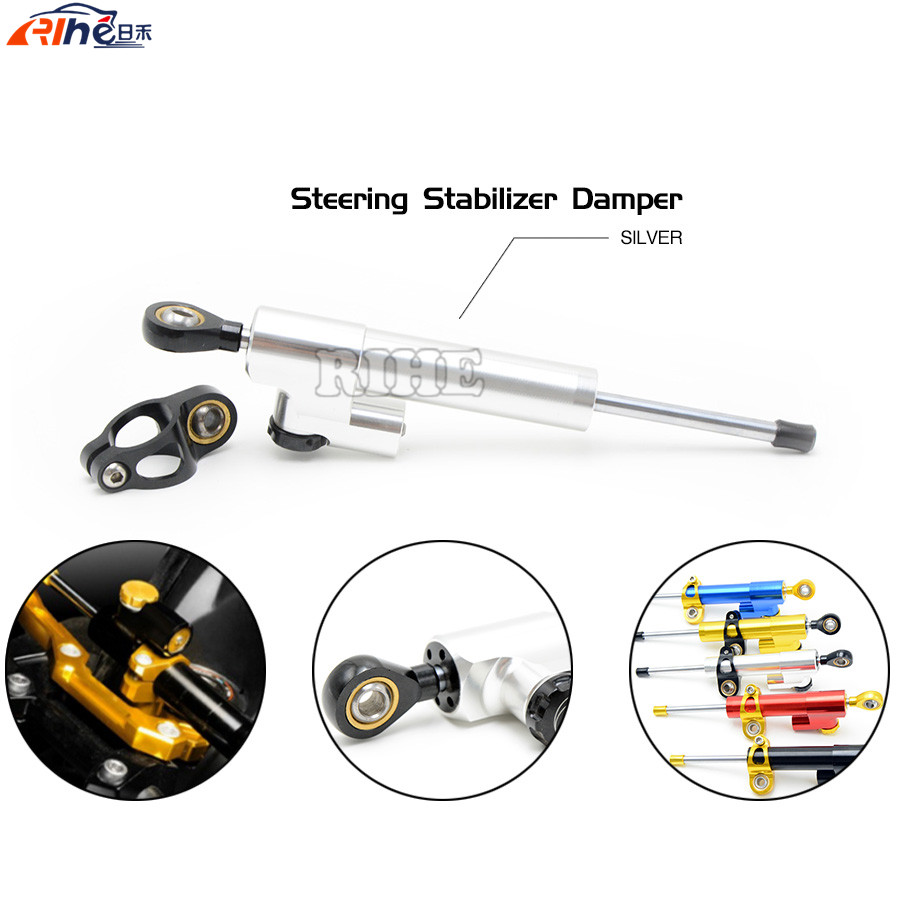 Universal Motorcycle CNC Stabilizer Linear Reversed Safety Control Steering Damper For HONDA NC 700 NC 750 NC700 X/S NC750 KTM fxcnc aluminum universal cnc adjustable steering damper motorcycle stabilizer linear reversed safety control black